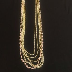 "Chico's 15"" Multi Strand Necklace"